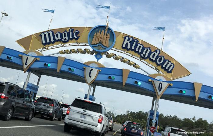 magic kingdom parking toll plaza