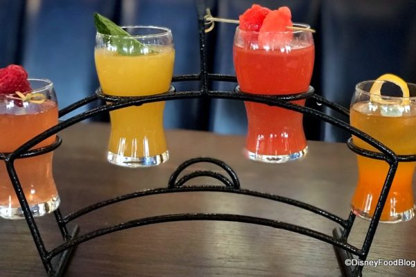 FIRST LOOK and Review: Brunch at Disney California Adventure's Lamplight Lounge!