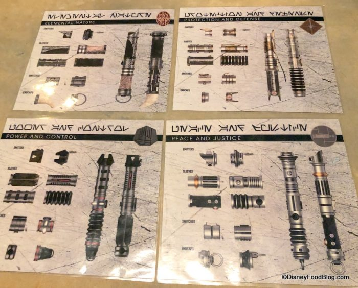 Details And Photos Build Your Own Lightsaber At Savi S