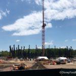 Photos! Magic Kingdom's TRON Coaster is Starting to Take Shape!
