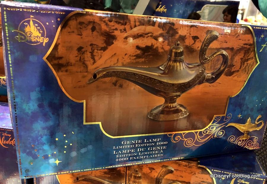 NEW and INCREDIBLE Aladdin Merchandise Flies Into Walt