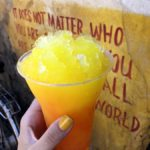 The Lion King Snacks in Animal Kingdom: Asante Slush at The Shave Ice Cart