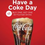 "Celebrate National ""Have a Coke Day"" With BOGO Fountain Drinks at the Coca-Cola Store Orlando in Disney Springs"