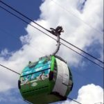 Wanna See Which Characters We Spotted On An Uncovered Disney Skyliner Gondola?