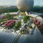 Here's the Latest Look at Epcot's MAJOR Construction From Above!
