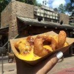 Pics and Review! New Loaded Onion Rings at Magic Kingdom's Golden Oak Outpost