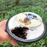 It's A Party With the Mickey Celebration Brownie At Casey's Corner In Magic Kingdom