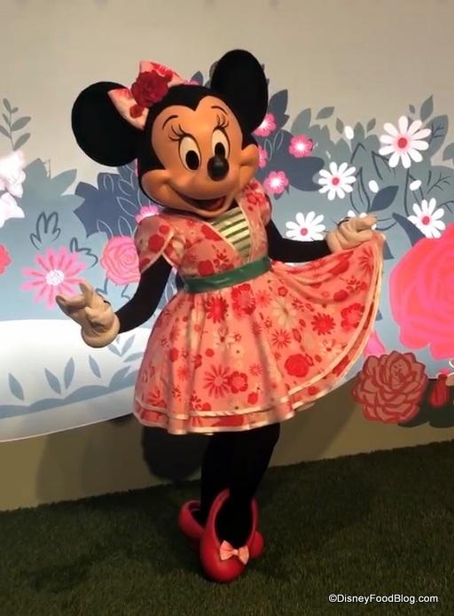 Minnie's Garden Party Dessert | the disney food blog