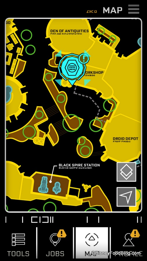 PLAY in Galaxy's Edge When the Disney Parks App Becomes Your
