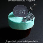 """Game of Thrones"" Cupcake Coming to Sprinkles for a Very Limited Time!"