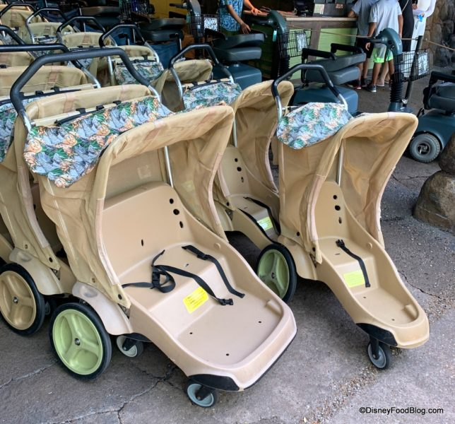Where To Look For Rentals: Disney's Animal Kingdom Now Testing New Stroller Rentals