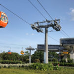 Check Out the Disney Skyliner Gondolas at the Boardwalk Turn Station