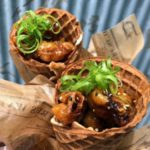 REVIEW! The NEW Flavors of Florida Gator Tail Waffle Cone at Morimoto Asia! (Now With REAL GATOR!)