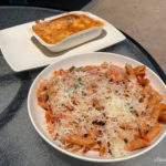 Review! New Pasta Dishes (Is One a TV Dinner?!) at Port Orleans French Quarter Resort in Disney World!