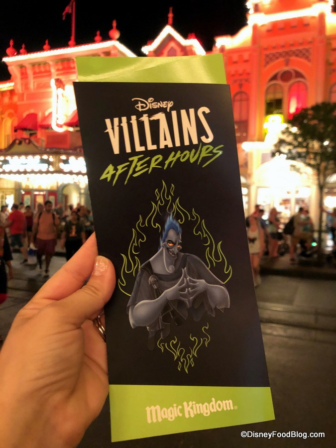 It's a WICKED Time at Disney VILLAINS After Hours in Magic Kingdom