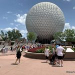 Epcot Entrance Transformation Update: Half of the Leave A Legacy Monoliths Entirely Removed