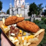 Pics and Review! Jalapeno Popper Loaded Fries at Casey's Corner in Magic Kingdom