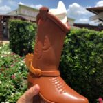 """There's A DOLE WHIP In My Boot!"" Toy Story 4 Souvenir Boot Cup at Marketplace Snacks in Disney Springs"