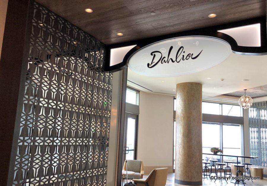 REVIEW and PHOTO TOUR: The NEW Dahlia Lounge in Gran Destino