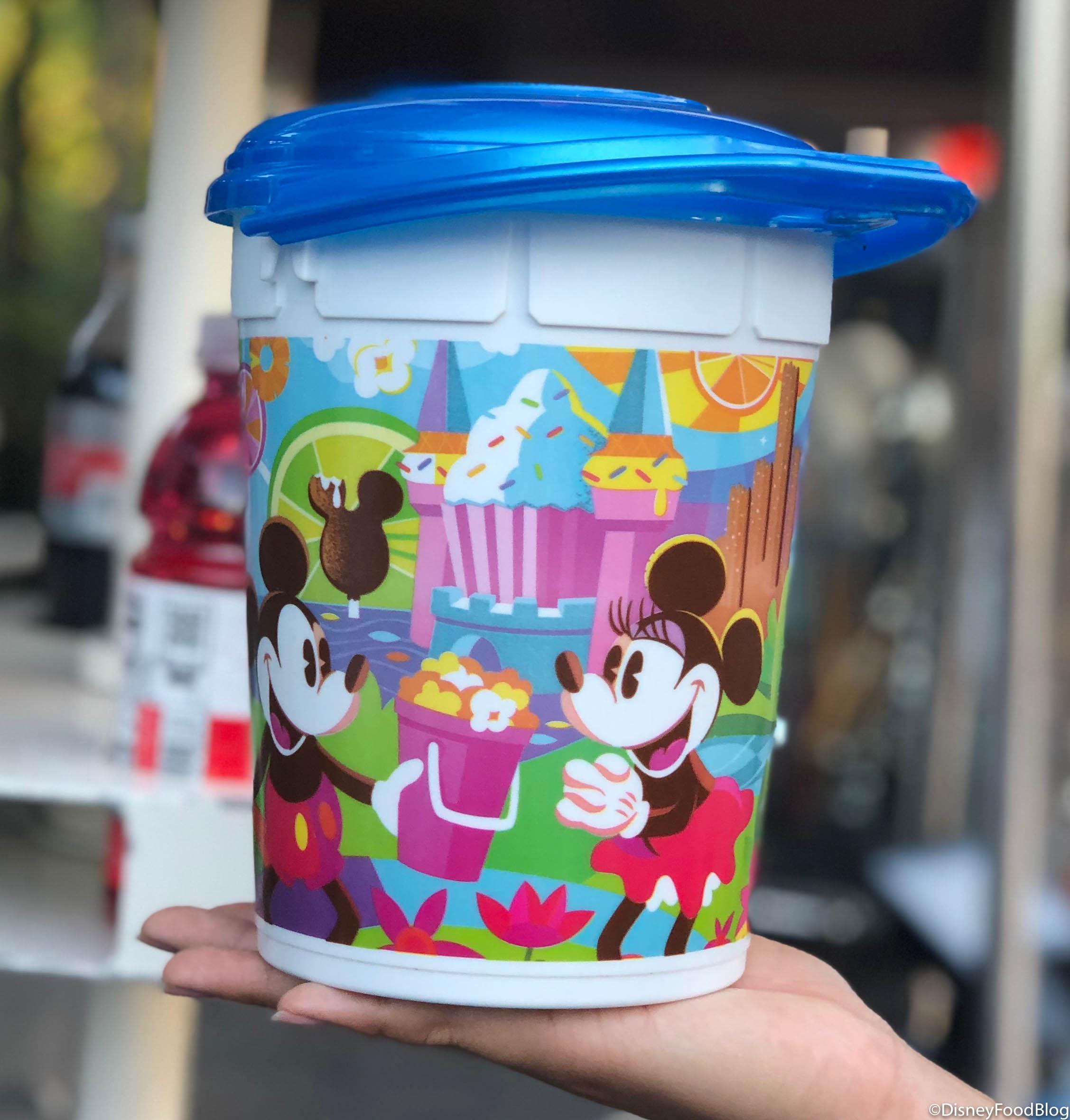 Donald Duck Disneyland Donald Duck Popcorn Bucket Souvenir 50th Anniversary ft