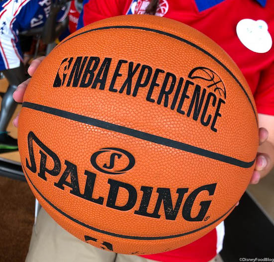 buy online ed27b 844fe Photo and FUN TOUR! The NBA Experience Store in Disney ...