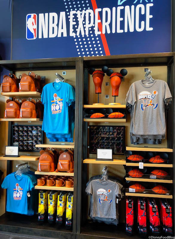 buy online bf0fe c746d Photo and FUN TOUR! The NBA Experience Store in Disney ...