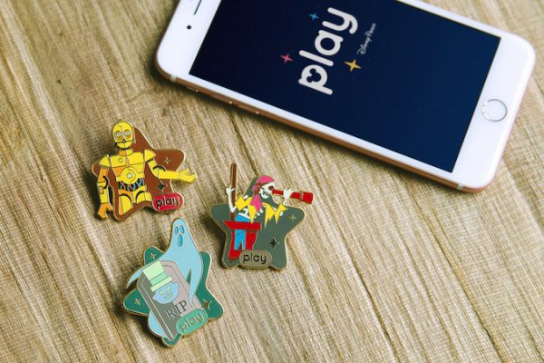 Here's How To Get Exclusive Disney Commemorative Pins with the Play Disney Parks App!