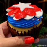 Review! Fourth of July Cupcake from Disney's Polynesian Village Resort!