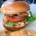 "Review: Is This Surf & Surf ""Burger"" in Disney World Still a Food Court Favorite?"