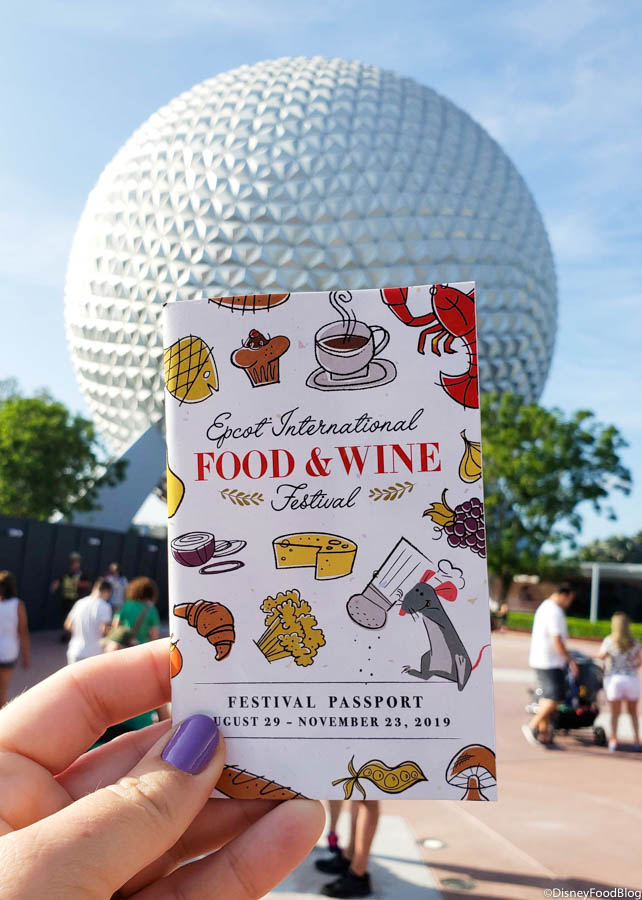 We Re Live At The 2019 Epcot Food And Wine Festival