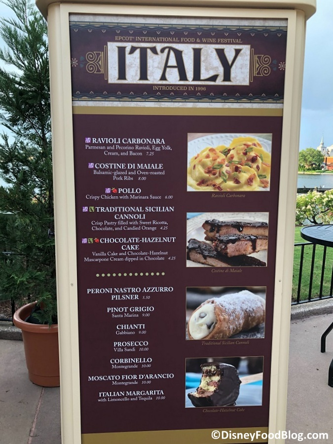 2019 Epcot Food And Wine Festival Booth Prices
