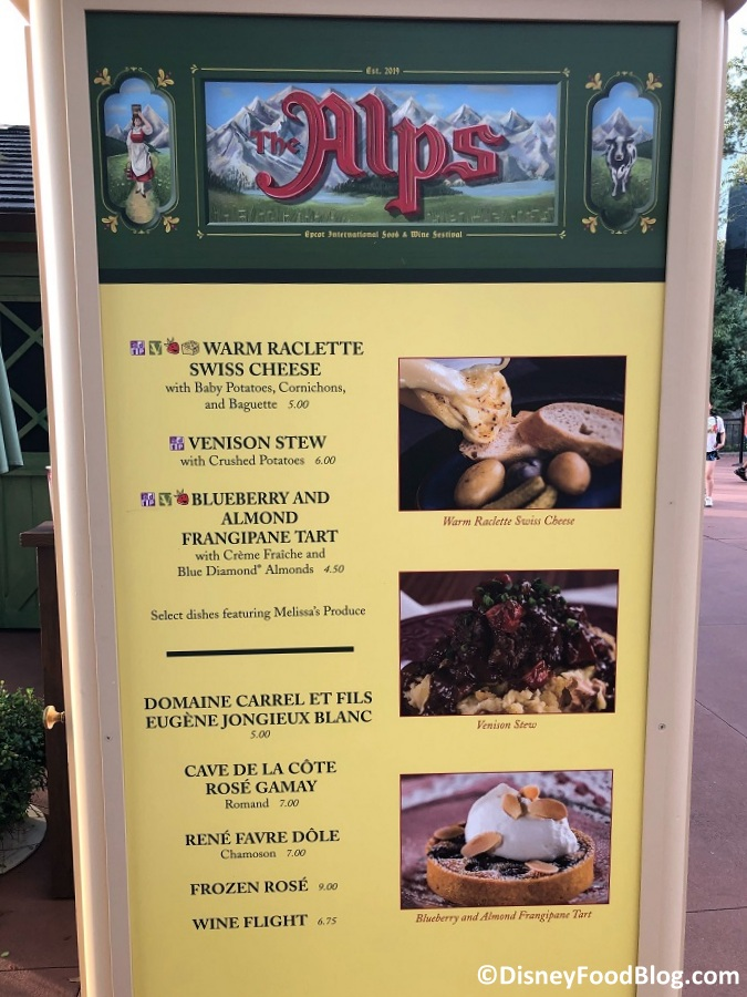 The Alps: 2019 Epcot Food and Wine Festival