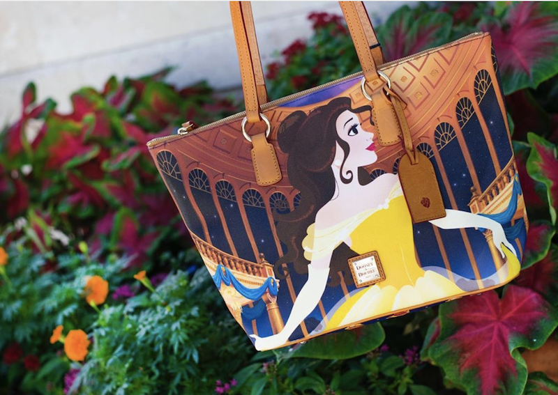 Disney Launches New Beauty And The Beast Dooney Bourke Collection The Disney Food Blog