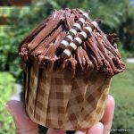 Pics and Review! The Chewbacca Chocolate Hazelnut Cupcake Lands in Disney World!