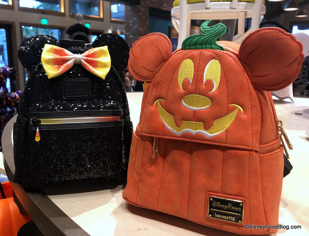 Halloween Duo.A Duo Of Halloween Loungefly Backpacks Has Arrived In Disney