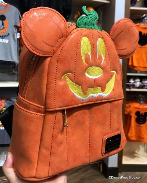 A Duo Of Halloween Loungefly Backpacks Has Arrived In