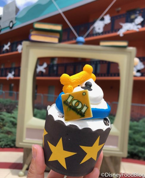 What's New at All-Stars Resorts! Cartoon Cupcakes, Building
