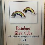 Add Some Color to Your Drinks with the New Rainbow Glow Cube in Disney World!