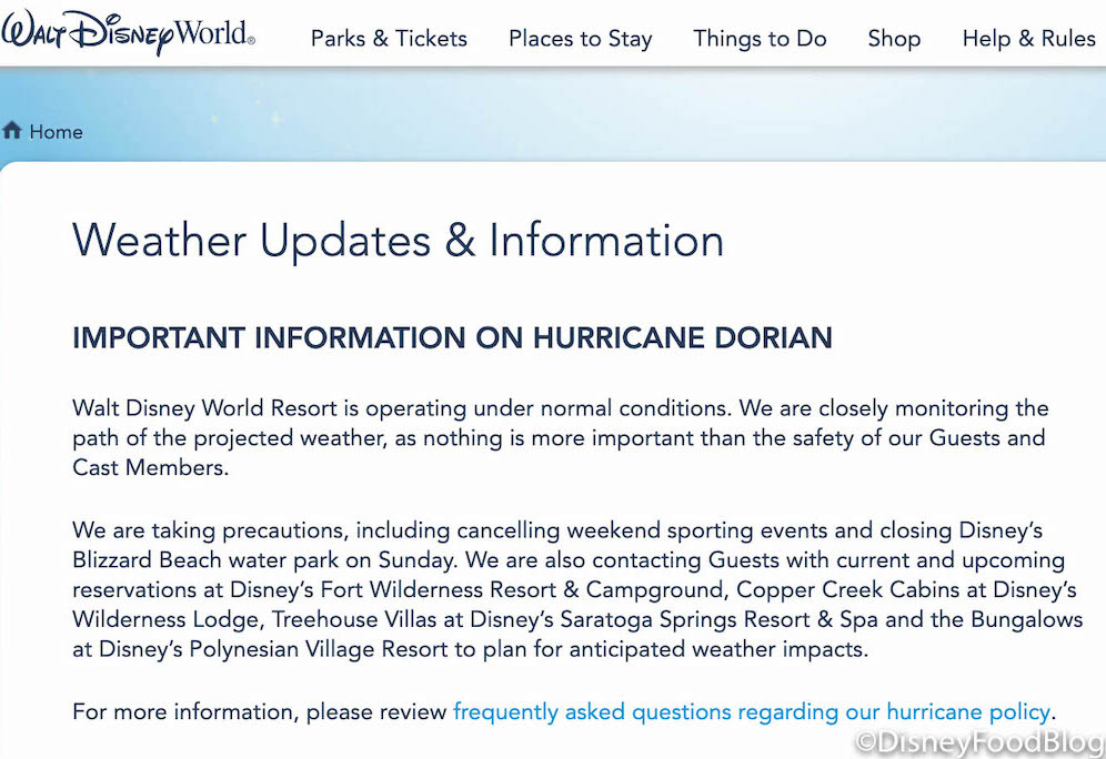 Gov. Roy Cooper urges residents to prepare for a Hurricane Dorian emergency