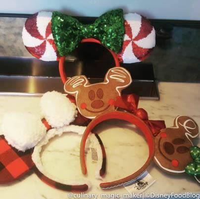 Christmas Minnie Ears 2019.Sneak Peek Gingerbread Minnie Ears A Mickey Ornament