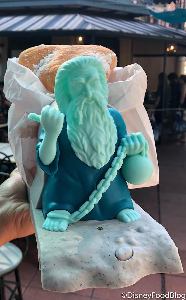 Disney Haunted Mansion 50th Hitchhiking Ghost Gus Beignet Bucket Popcorn Donut