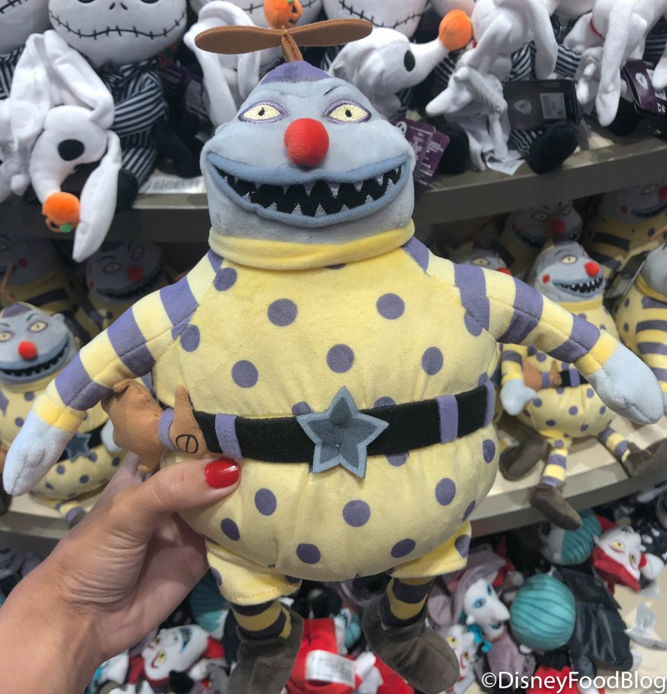 "2019 Nightmare Before Christmas 8/"" Barrel Plush Stuffed"