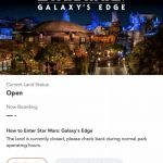 NEWS: Virtual Queue and Boarding Groups Are In Use For Star Wars: Galaxy's Edge in Disney World