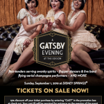 Celebrate A Gatsby Evening at The Edison With a Cast Member Discount!