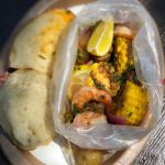 Review! Deadly Delicious Ghost Mariner's Seafood Boil in Disneyland
