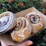 NEWS and Review: Mini Cinnamon Buns With Coffee-Caramel Sauce in Disney's Animal Kingdom!