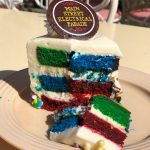 "Review! Colorful ""Main Street Electrical Parade"" Cake in Disneyland!!"