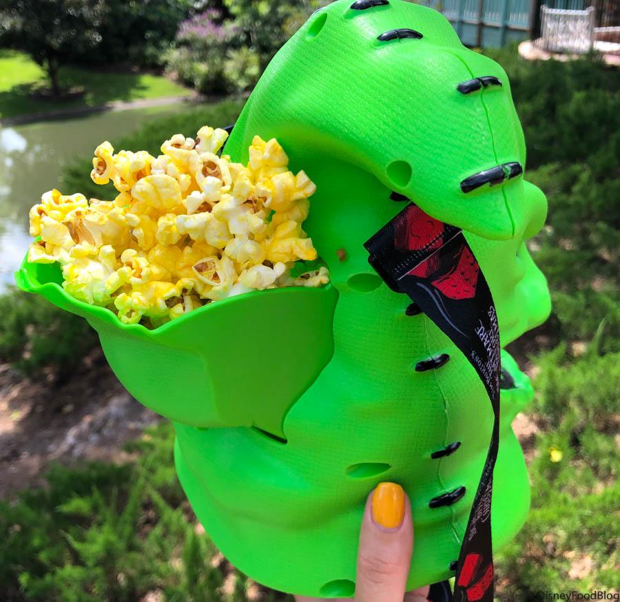 oogie boogie popcorn bucket 2020