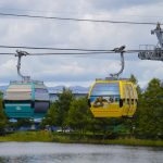 Get a Bird's Eye View from INSIDE a Disney World Skyliner Gondola!