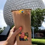 Pics and Review! NEW Rainbow Popcorn Debuts in Epcot!